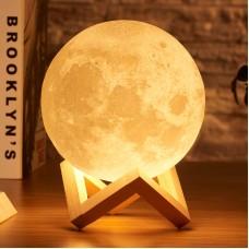Լուսամփոփ լուսին՝ սենսորային գունափոխմամբ , 15սմ