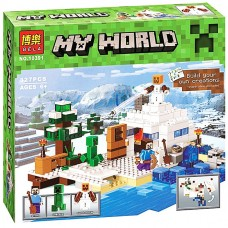 "Կոնստրուկտոր "" Minecraft MY WORLD "" 327 դետալ"