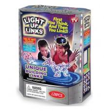 """Լուսային կոնստրուկտոր """" LIGHT UP LINKS """" 128 կտոր"""