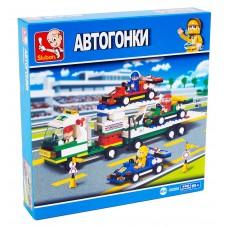"""Կոնստրուկտոր Sluban """" Автогонки """" 428 դետալ"""
