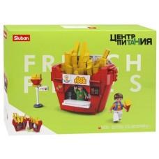 """Կոնստրուկտոր Sluban """" French fries """" 320 դետալ"""
