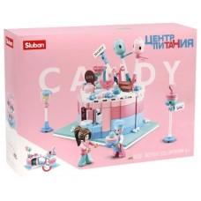 """Կոնստրուկտոր Sluban """" Candy """" 328 դետալ"""