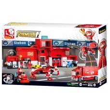 "Կոնստրուկտոր Sluban "" Автогонки Formula "" 557 դետալ"