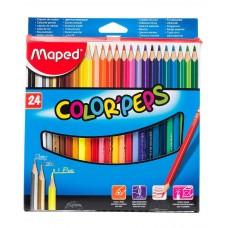 Գունավոր մատիտ Maped 24 գույն