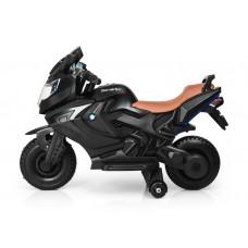 Էլեկտրական մոտոցիկլետ մինչև 6 տարեկանի, ռեզինից անիվներ և 2 շարժիչ