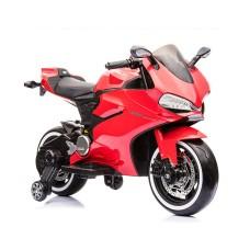 Էլեկտրական մոտոցիկլետ, ռեզինից անիվներով