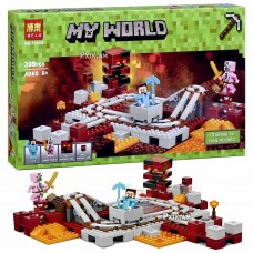 "Կոնստրուկտոր "" Minecraft MY WORLD "" 399 դետալ"