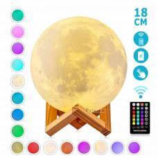 Լուսամփոփ լուսին՝ հեռակառավարմամբ 16 գույն , 18սմ
