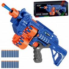 Игрушечное оружие Автомат бластер, мягкие пули-присоски
