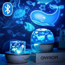 Լուսամփոփ-պրոյեկտոր՝ 6 տարբեր թեմաներով, Bluetooth-ով