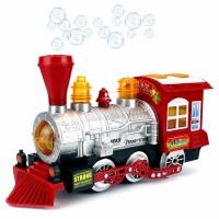 Поезд с мыльными пузырями