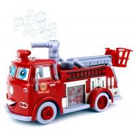 Пожарная машина с мыльными пузырями