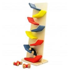 Деревянная игрушка с машинками N2