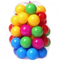 Գնդակներ մանեժների և լողավազանների համար, 50հատ 7սմ