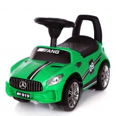 Ինքնագլոր մեքենա Mercedes, կանաչ