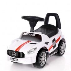 Ինքնագլոր մեքենա Mercedes, սպիտակ