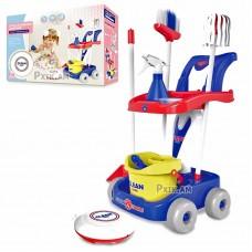Детский набор для уборки с роботом пылесосом