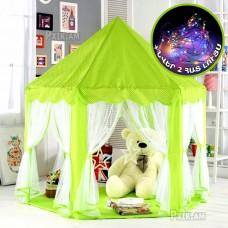 Детский домик - зеленый