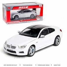 Կոլեկցիոն մեքենա BMW M6 coupe, շարժվող ղեկով 1/24