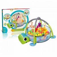 Մանկական խաղագորգ-մանեժ, գնդակներով