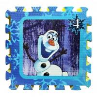 """Փափուկ փազլ գորգ """" Frozen """" 30x30 սմ"""