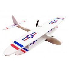 Самолет планер из пенопласта с зарядкой