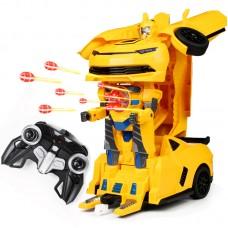 Կրակող մեծ տրանսֆորմեր Bumblebee, հեռակառավարմամբ
