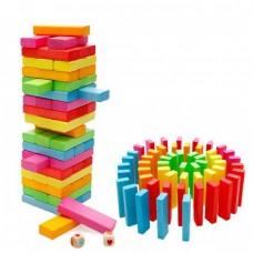 Սեղանի խաղ Ջենգա, գույներով