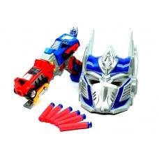 """Տրանսֆորմեր ատրճանակ """"Optimus Prime Gun""""՝ դիմակով"""