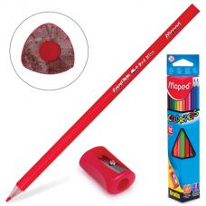 Գունավոր մատիտ Maped 12 գույն + սրիչ