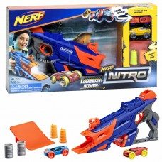 """Ատրճանակ """" Nerf Nitro """" , մեքենաներով"""