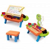 Կոնստրուկտորի սեղանիկ, աթոռով 2-ը 1-ում՝ 100 կտոր
