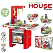 """Մանկական խոհանոց """" Barbecue House """" իրական ծորակով"""