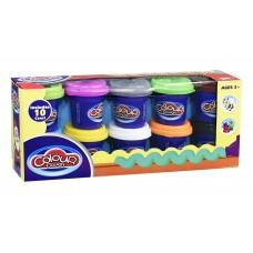 Ծեփամածիկի հավաքածու Colour-Dough 10 գույն