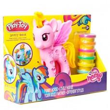 """Ծեփամածիկի հավաքածու """" Պոնի """" Play-Toy"""